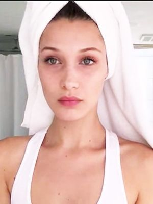 Watch Bella Hadid Hide Jet Lag With Makeup in Minutes