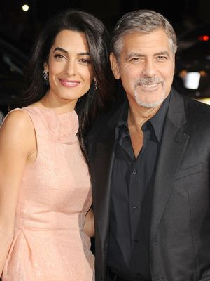 Cindy Crawford and Amal Clooney Matched on Their Double Date