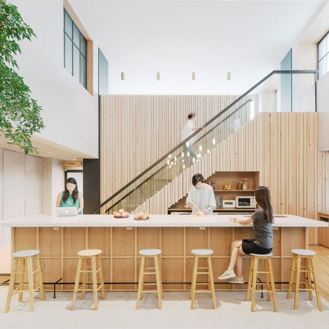 Step Inside Airbnb's Nature-Filled Tokyo Office
