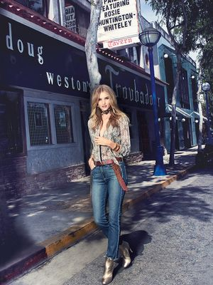 Rosie Huntington-Whiteley Is Pure Rock 'n' Roll in This New PAIGE Campaign