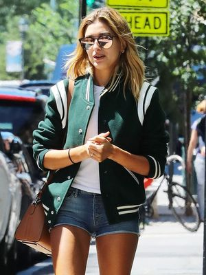 The Hailey Baldwin Way to Wear Ankle Boots When It's Still Summer