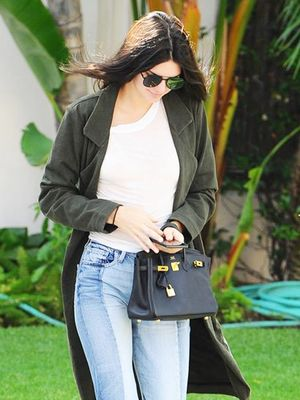 This Is One of Kendall Jenner's Favorite Denim Looks Ever