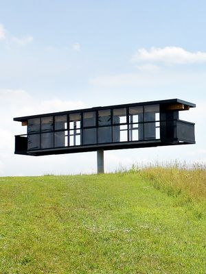 Would You Live in This Artsy Rotating Home?