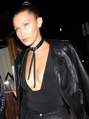 This Bella Hadid Outfit Is Perfect for Going Out This Fall