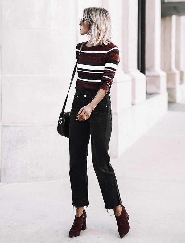 striped-sweater-black-jeans-outfit