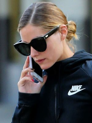 The Surprising Bag Olivia Palermo Takes to the Gym