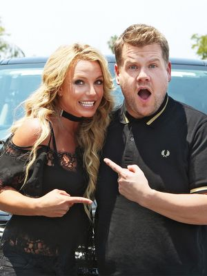 "Britney Spears Resurrected Her Schoolgirl Costume for ""Carpool Karaoke"""