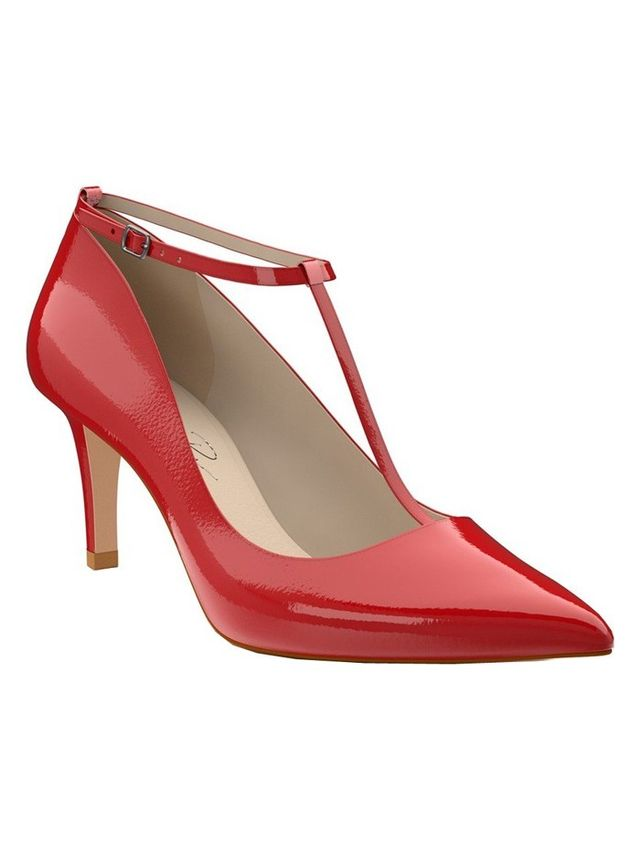 Would you wear... Ankle-wrap pumps?