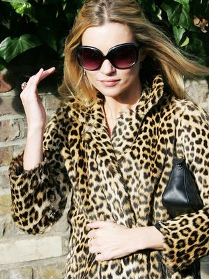 The New Leopard Print Coats Kate Moss Should Add to Her Collection