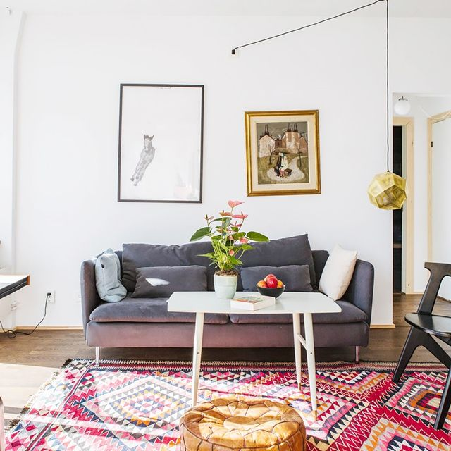 Inside a Bright, Pattern-Packed Apartment
