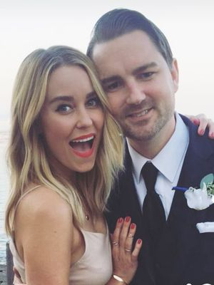 Lauren Conrad Wore the Prettiest Dress to Her Friend's Wedding