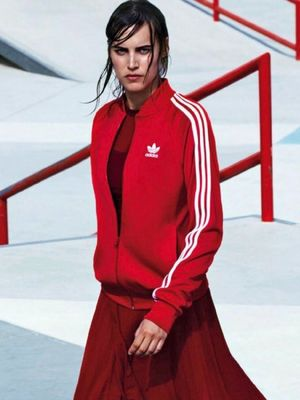 The High-Fashion Way to Wear an Adidas Tracksuit