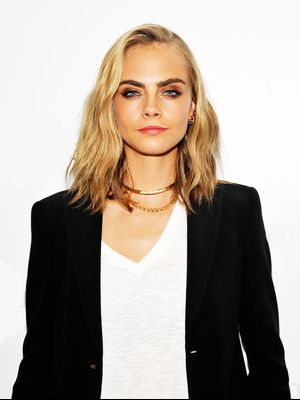 You Have to See the Colorful Braids Cara Delevingne Wore to Burning Man