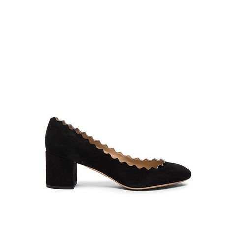 Suede Lauren Pumps
