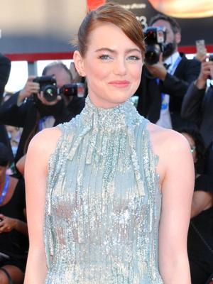 Emma Stone's Venice Film Festival Dress Is Best Seen in Motion