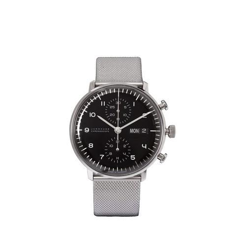 Max Bill Chronoscope Stainless Steel Watch