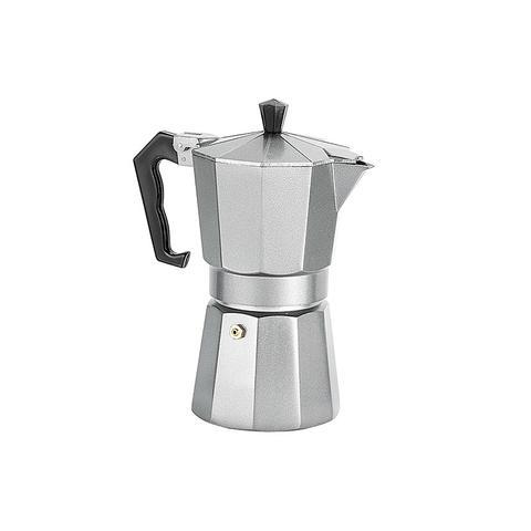 Espresso Maker 6 Cup Platinum