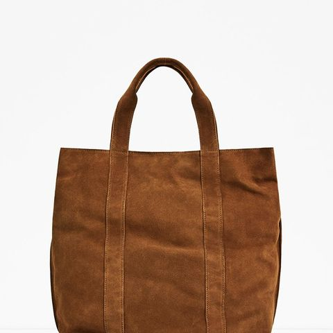 Studio Collection Brown Leather Tote