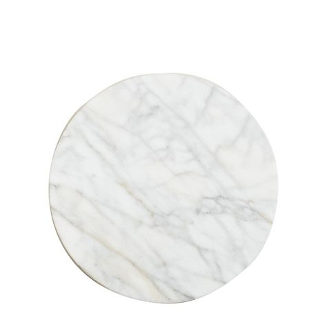 White Marble Lazy Susan