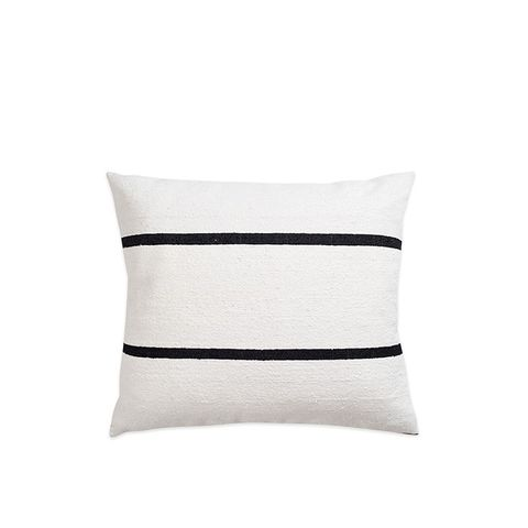 Moroccan Berber & Linen Large Pillow