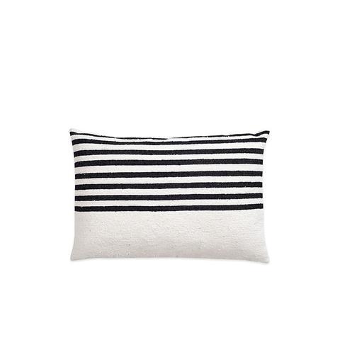 Moroccan Berber & Linen Pillow