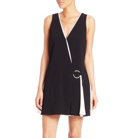 Vega Sleeveless A-Line Dress