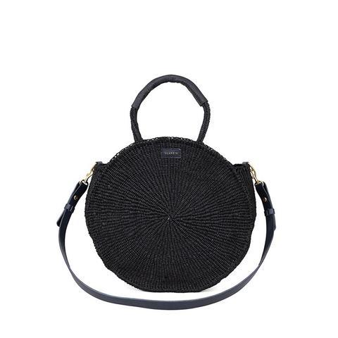 Alice Black Woven Bag