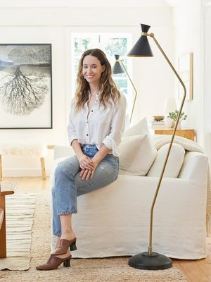 Inside Jenni Kayne's Stunning Living Room Makeover