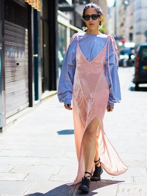 How to Wear Your Favourite Summer Slip Dress Into Autumn