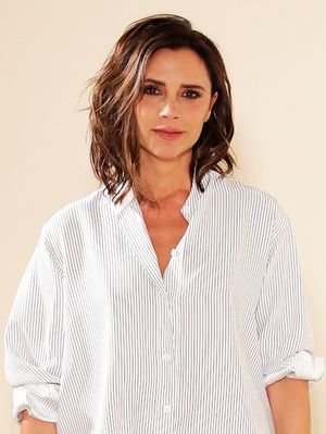 Victoria Beckham Wore the Most Chilled Outfit on the Runway