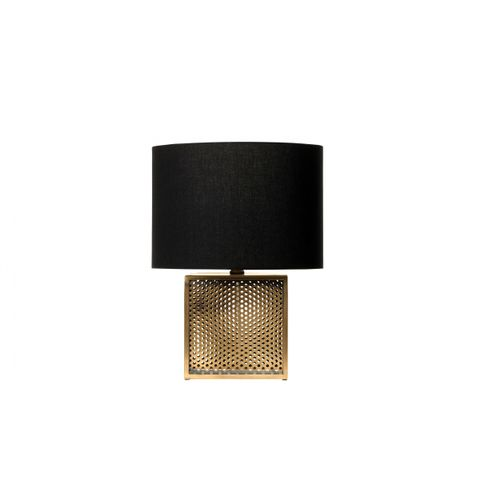 Perforated Brass Lamp