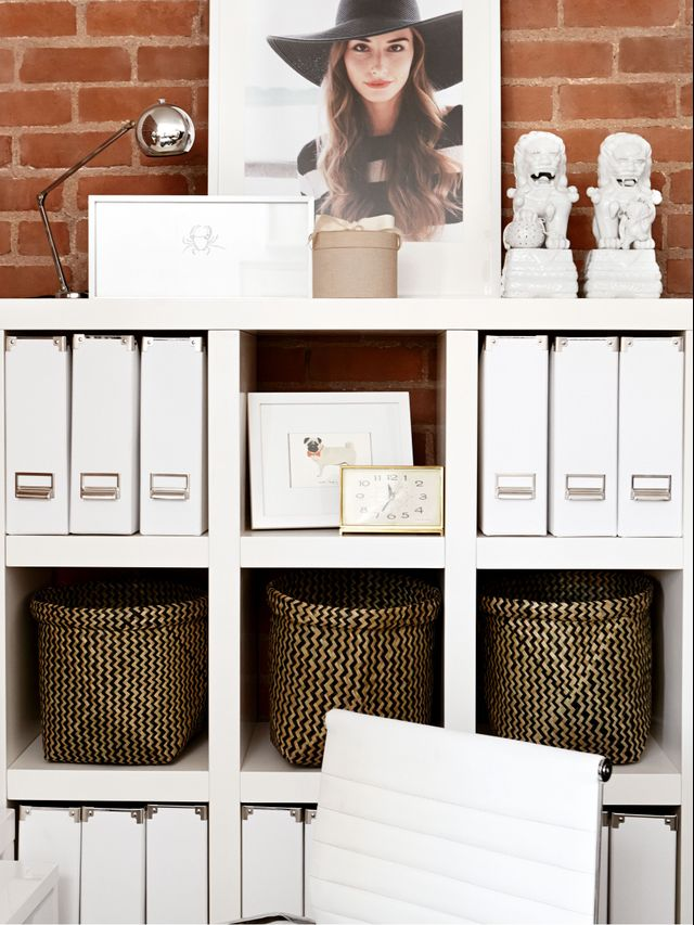 the simple organization hacks tidy people do every day mydomaine. Black Bedroom Furniture Sets. Home Design Ideas