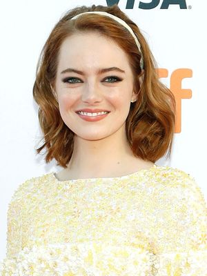 Emma Stone Looks Like Blair Waldorf's Twin on the Red Carpet