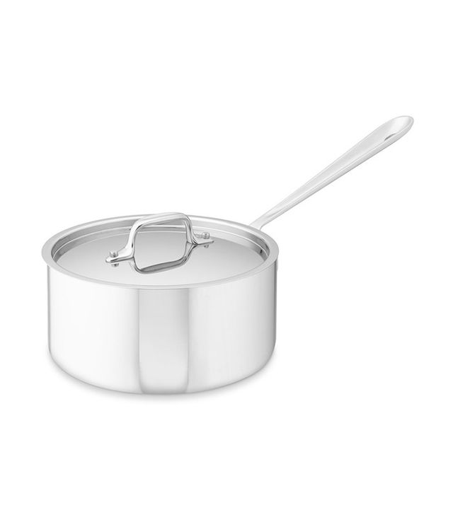 Stainless-Steel Saucepan
