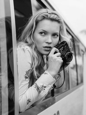 Bruce Weber on What It's Really Like Shooting Kate Moss
