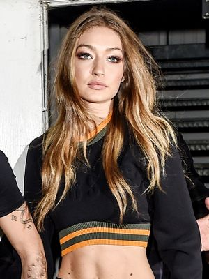 So, Gigi Hadid Wore Sweatpants to a Nightclub