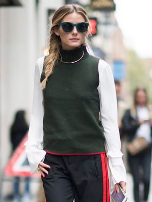 Olivia Palermo Wants You to Wear Your Necklace Like This
