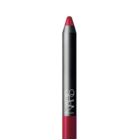 Velvet Matte Lip Pencil in Mysterious Red