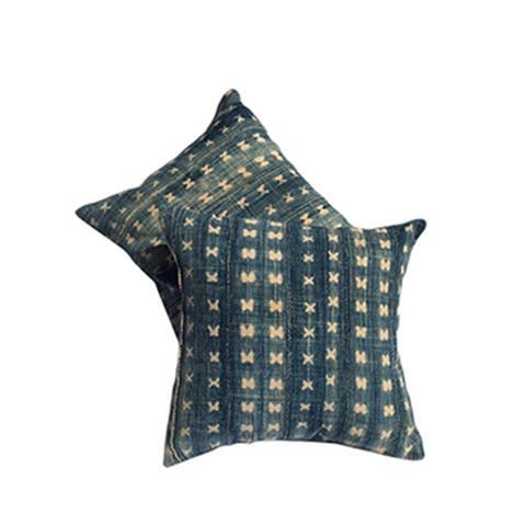 Vintage Indigo Cotton Pillows