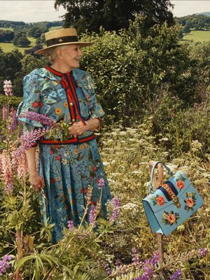 This 79-Year-Old Stuns in the Latest Gucci Campaign