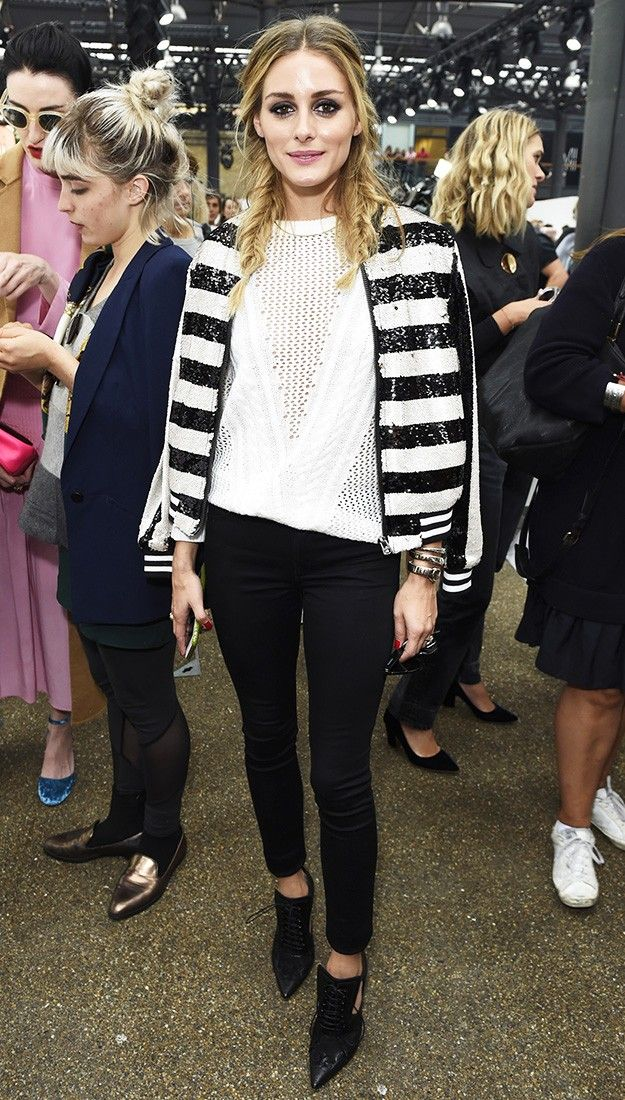 This Jacket Styling Trick Isn't Over Yet, According to Olivia Palermo