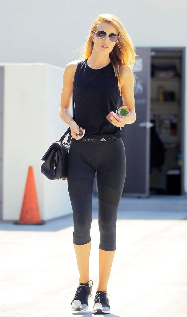 This Celebrity Has the Best Legging Wardrobe