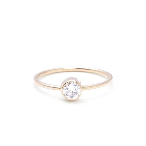 Acantha Diamond Solitaire Ring
