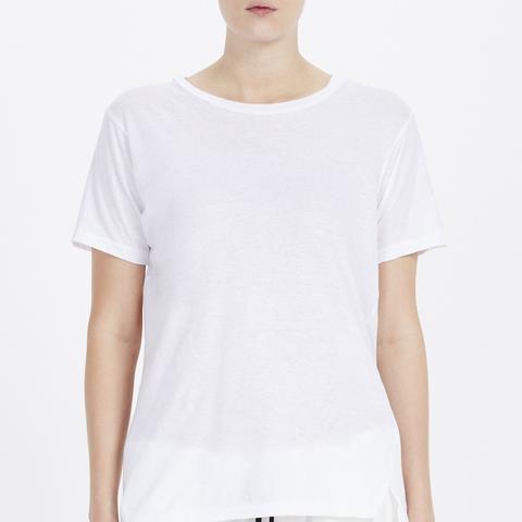 Slim Vintage Neck T-Shirt