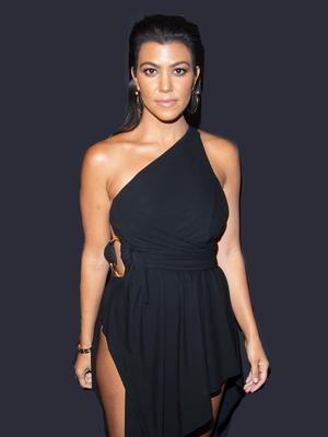 Kourtney Kardashian Just Snapped Her Leg Workout