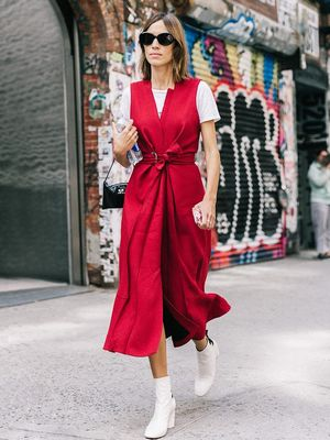 8 Fall Dresses to Wear With Ankle Boots