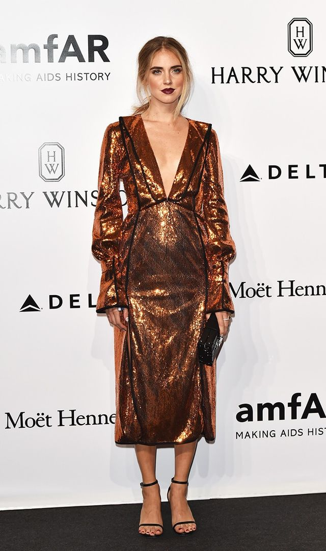 The Best Celebrity Looks From the Milan amfAR Gala