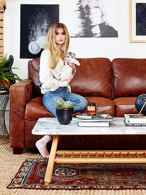 This Starlet's L.A. Loft Is Every Millennial's Dream Apartment