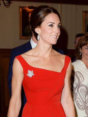Kate Middleton Shut It Down in the Best Red Dress of 2016