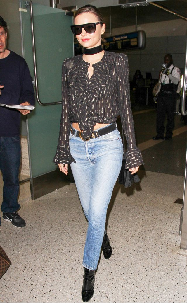 Wear This to Look More Stylish at the Airport